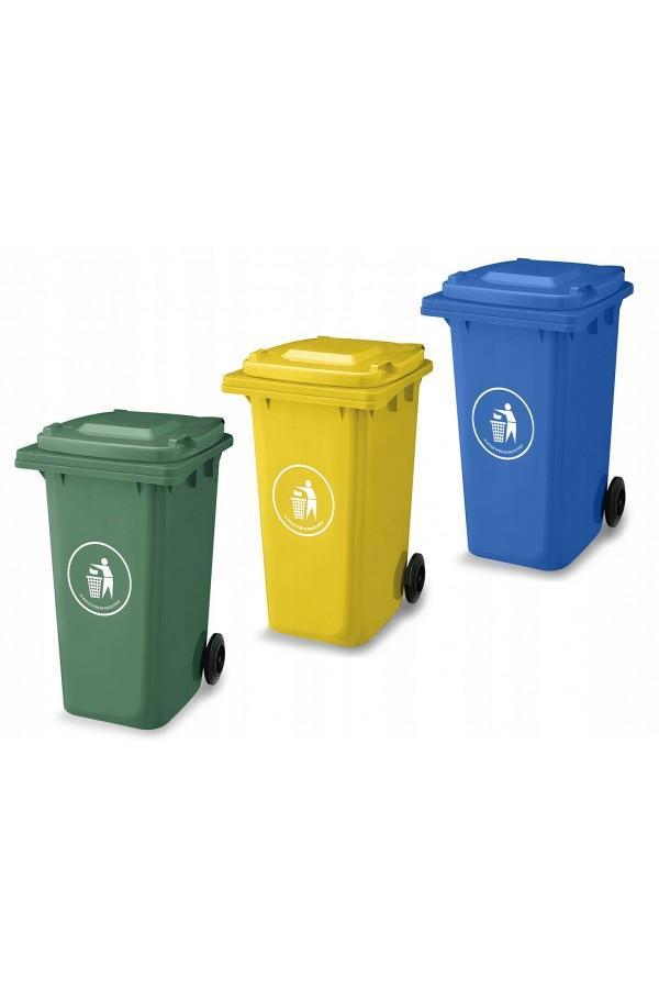 kosze na odpady - kosze do segregacji